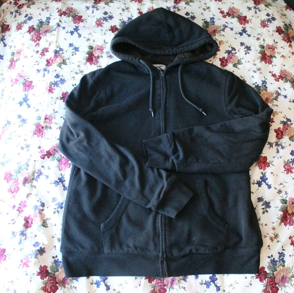 Old Navy lined zip-up